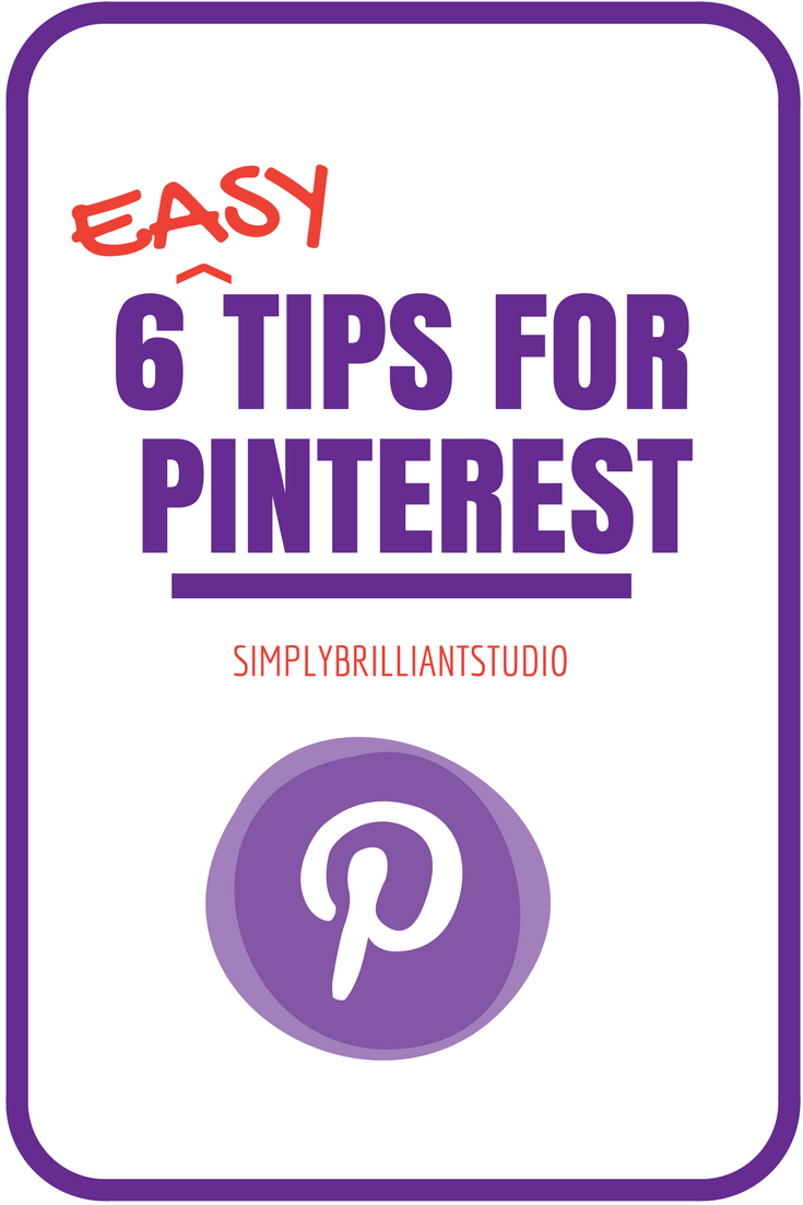 easy tips for pinterest